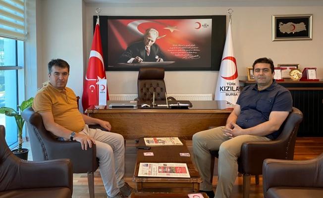 Türk Kızılay Bursa'ya Ankara'dan Özel Teşekkür