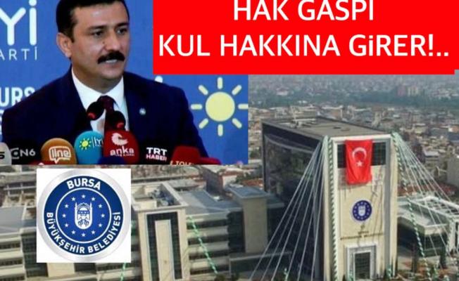 Türkoğlu'dan büyükşehire 5 bin işçiyi mağdur etmeyin çağrısı