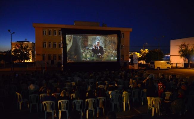 Yıldırım'da yazlık sinema günleri başladı