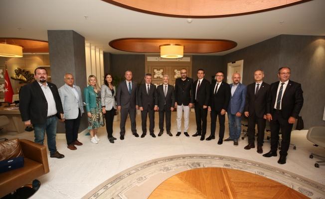 Başkan Erdem'den RUMELİSİAD projelerine destek