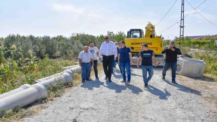 Başkan Özkan'dan altyapı çalışmalarına yakın takip