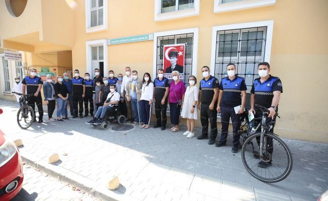 Bizim Ev katılımcıları Zabıta Haftası'nı kutladı