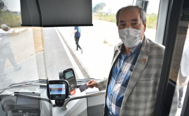 Bursa'da şehit yakınları ve gazilere anlamlı karşılama