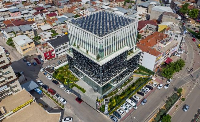 Bursagaz'ın Yeşil Genel Müdürlük Binası'nda büyük tasarruf