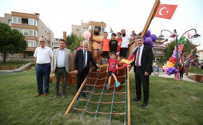 Çocuklar tasarladı, Nilüfer Belediyesi yaptı