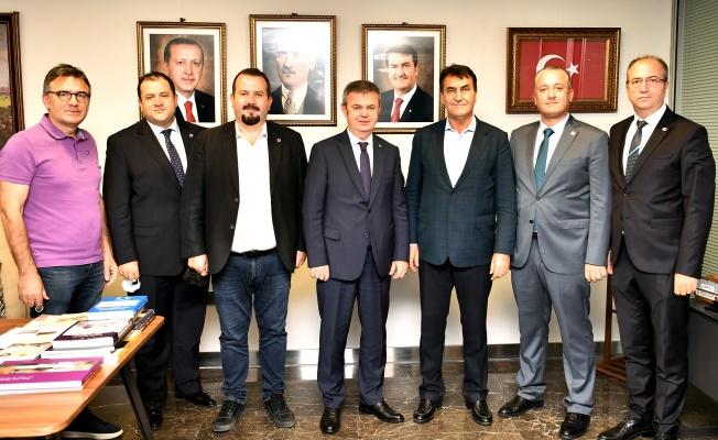 RUMELİSİAD'tan Başkan Dündar'a Ziyaret