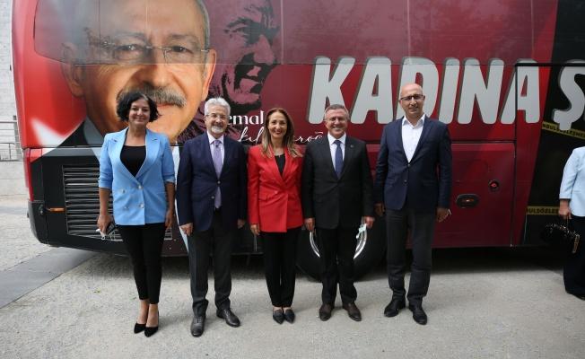 """""""Yaşam Hak"""" otobüsü Bursa'da"""