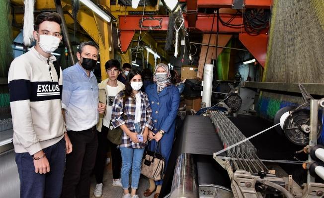 Yıldırım, tekstil sektörüne kalifiye eleman yetiştiriyor
