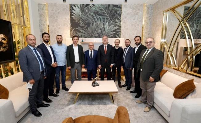Başkan Taban'dan Modef Expo'ya Ziyaret
