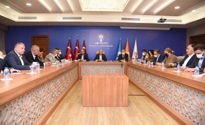 """Gürkan: """"Gücümüzü Bursa'nın Güveninden Alıyoruz"""""""