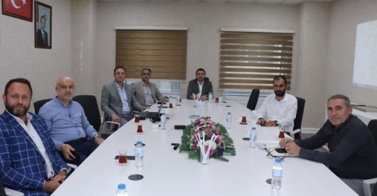 İMSİAD'dan başkan Tanır'a ziyaret
