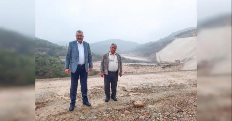 Karacabey'de Yeşildere Barajı gün sayıyor