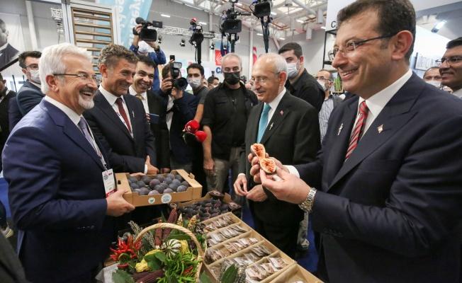 Kılıçdaroğlu'dan Nilüfer'in yerel ürünlerine tam not