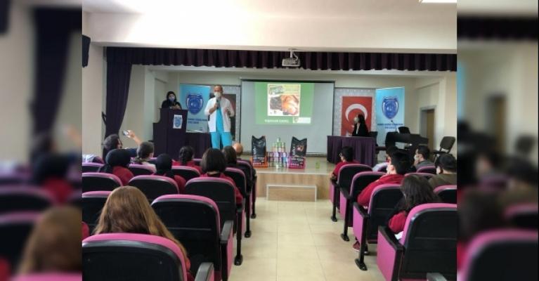 Öğrenciler hayvan sevgisini Osmangazi ile öğreniyor
