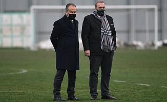 Başkan Aktaş, Bursaspor antrenmanını ziyaret etti