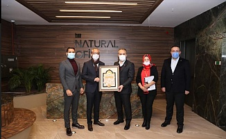 Başkan Aktaş'tan Natural Ofis'e Ziyaret