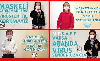 Bursa'da Minik Öğrencilerden kamu spotu