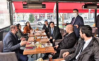 Esnafa Başkan Yılmaz'dan Ziyaret