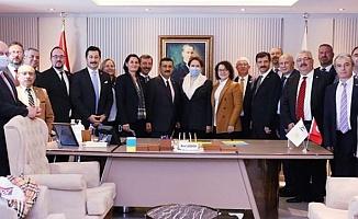 İYİ Parti Bursa Teşkilatları tam kadro Ankara'da