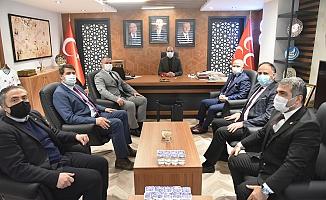 Başkan Gürkan'dan MHP'ye Ziyaret