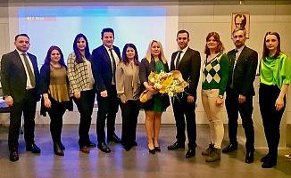 Bursa Halkla İlişkiler Derneği'nde Yeni Başkan Cansel Oruç