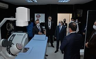 BUÜ Hastanesi'ne modern taş kırma cihazı