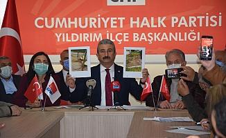CHP Yıldırım İlçe Başkanı Yeşiltaş'tan hayali hizmet raporuna tepki