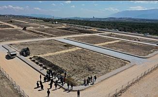 Hasköy mezarlığında defin işlemi başladı