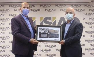 İHH Bursa'dan MÜSİAD'a Hayırlı Olsun Ziyareti