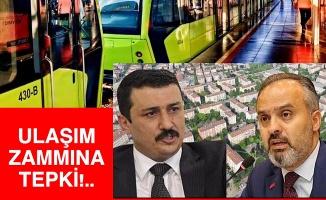 İYİ Parti Bursa'dan Başkan Aktaş'a 'toplu taşıma zammı' sorusu