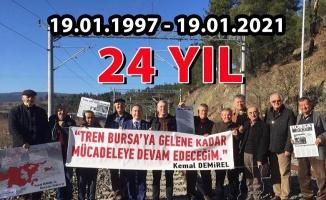 Kemal Demirel'den Bakan'a hızlı tren sorusu