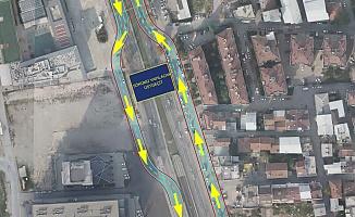 Mudanya Yolu'nda trafik düzenlemesi