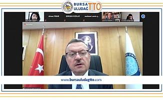 Rektör Kılavuz'dan Bursa Uludağ TTO'ya Teşekkür