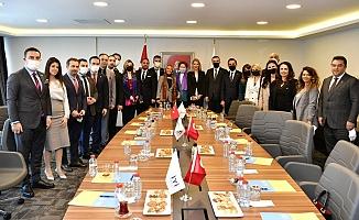 TÜGİAD'dan İYİ Parti'ye Ziyaret