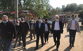 """İYİ Parti Heyeti, Kirazlıyayla'da seslendi! """"Zulme  Artık Dur Deyin!"""""""