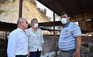 Başkan Gürkan'dan Afet Bölgesine Destek Ziyareti