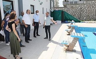 Başkan Türkyılmaz tesisleri yerinde inceledi