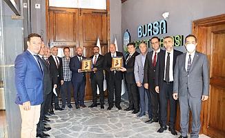 Bursa Ticaret Borsası Gaziantep heyetini ağırladı