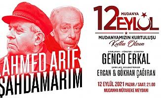 """Genco Erkal """"Şahdamarım"""" İle 12 Eylül'de Mudanya'da"""
