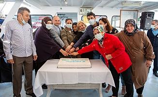 Mavi Tur sağlıkçıları ağırladı