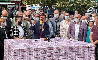Türkoğlu'ndan Forkliftli Protesto!..