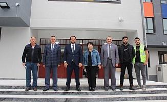 Bursa'daki okul inşaatları hız kesmeden devam ediyor