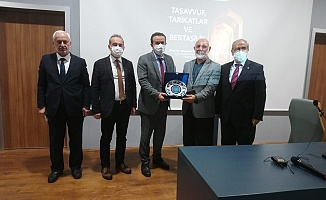 Hacı Bektaş-ı Veli vefatının 750. yıldönümünde BUÜ'de anıldı