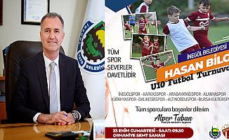 Hasan Bilge U10 futbol turnuvası başlıyor