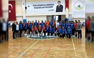 Osmangazi Belediyespor'un 2. Lig Sevinci