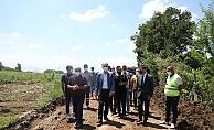 İnegöl'de 16 kırsal mahallede arazi yolu açılıyor