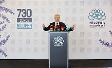 Başkan Erdem 730 günde Nilüfer'i anlattı