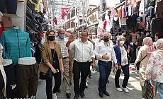 Mustafa Bozbey, Başkan Karaca İle Birlikte Sahaya İndi